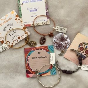 4 Brand New Alex and Ani's!!! With Tags!
